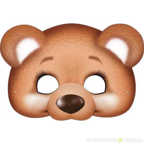 сравнивали картинка маски медведя большая свой отзыв